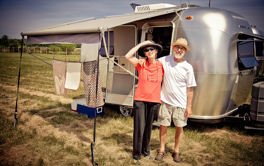 You'll see Airstreams big and small (other RVs are welcome too!)